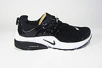 Женские кроссовки  Nike Air Presto, сетка, черные, Р. 41