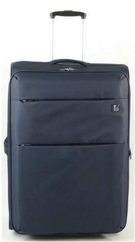 Прочный средний дорожный чемодан 60/67 л. на 2-х колесах Roncato Modo Cloud 425002/23 темно-синий