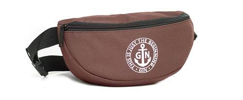 Поясная сумка S GIN 753952 коричневый