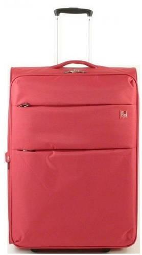 Средний дорожный стильный чемодан 60/67 л. на 2-х колесах Roncato Modo Cloud 425002/09 красный