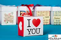 """Печенье с предсказаниями """"I love you"""" (2 печения)"""