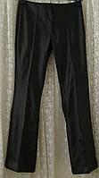 Брюки женские черные модные искусственная кожа For Women р.46 6052