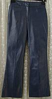 Брюки женские прямые нарядные с блеском вискоза хлопок бренд Warehouse р.44 6053