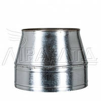 Конус термо дымоходный 0,5мм н/оц AISI 304