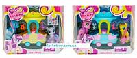 Набор игровой My Little Pony, 2 вида, 2 пони, с акссесуарами, каретой, арт.3209F