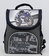 Школьный ранец для мальчика. Каркасный рюкзак. Портфель с ортопедической спинкой. Удобный рюкзак. Код:КТМ254.