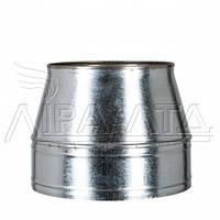 Конус термо дымоходный 1мм н/н AISI 304