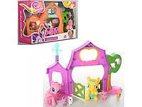 "Домик для пони ""My Little Pony"", 2 вида, 2 пони, с акссесуарами, , арт.3210А"