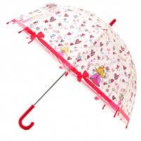 Детский прозрачный зонт Zest Принцесса ( механика ) арт. 51510-19