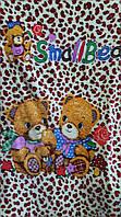 """Детский плед-одеяло с рисунком """"Медвежата"""""""