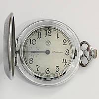 Molnija карманные часы СССР. Молния с интересным циферблатом