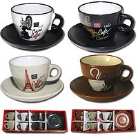 Сервиз чайный 12 элементов чашка-220мл,блюдце-14см SNT 1463-1