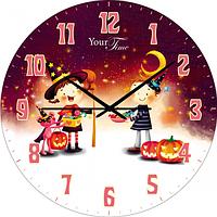 Часы настенные серия детских Волшебник МДФ круг. 25см SNT 05-401/1