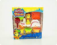 """Набор пластилина Play-Doh Город """"Транспортные средства, в ассортименте"""", B5959"""