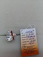 Кольцо серебряное с золотой накладкой Арт.115а
