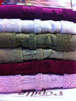 Бамбуковые полотенца Pupilla Голд 70*140