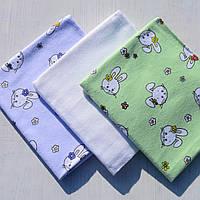 Теплые красивые пеленки для новороженных