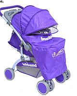 Детская прогулочная коляска Bambini Mars BUTTERFLY