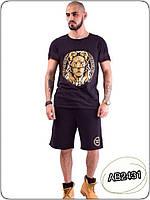 Костюм мужской шорты и футболка