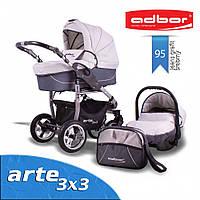 Коляска с автокреслом Adbor Arte 3x3