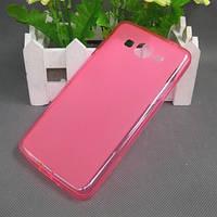 Чехол (силиконовая накладка)  для телефона  Samsung Core Prime G360 розовый