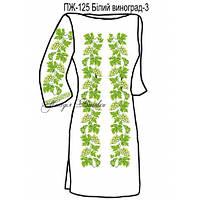 Плаття жіноче №125 Білий виногрд-3