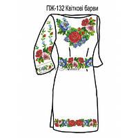 Плаття жіноче №132 Квіткові барви