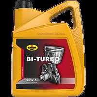 Моторное масло KROON OIL Bi-Turbo 20W-50 минеральное для бензиновых и дизельных моторов 5л. KL00340