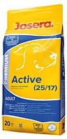 Josera Active 25/17 для взрослых активных собак 20 кг