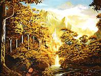 Картина из янтаря Горы (Картины и иконы из янтаря)