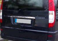 Накладка на дверь багажника Mercedes Vito/Viano W639 (Ляда)