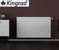 Стальные радиаторы kingrad compact (боковое подключение)