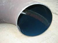 Отвод стальной эмалированный  Ду80(89)х3,5     90*