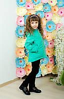 Курточка детская демисезон зеленая, фото 1