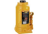 Домкрат гидравлический бутылочный 20т (250-470мм) SPARTA 50328