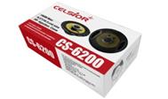 """Автоколонки """"Celsior""""  6.5"""" 190 Вт/2-пол. черные/желтый динамик (16 см) (CS-6200)"""