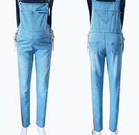 Универсальный, джинсовый комбинезон для будущих мам