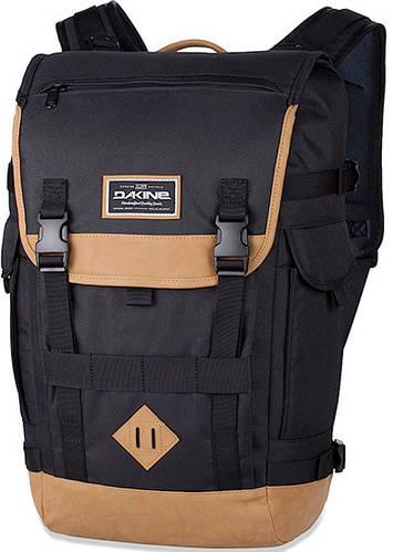 Удобный мужской городской рюкзак Dakine Vault 25L Black 610934842173 черный