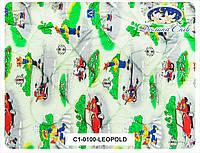Одеяло детское с наполнителем холлофайбер 100x140 см