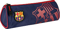 Школьный пенал мягкий на молнии 667 FC Barcelona, фото 1