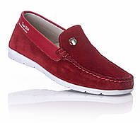 Мокасины детские девочка красные  туфли подростковые 31,32,33,36 супинатор кожа Tutubi