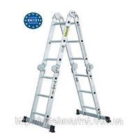 Лестница шарнирная Werk LC2412 (4 секции по 3 ступеньки)
