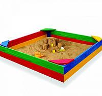 Детская разноцветная песочница SB-1