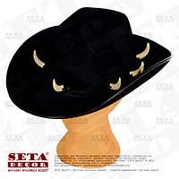 "Шляпа ""Крокодил Данди"" карнавальная черная"