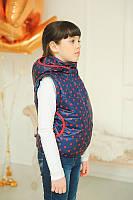 Куртка-жилетка со съемными рукавами для девочки от производителя