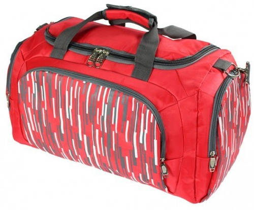 Женская дорожная сумка в спортивном стиле на 45 L Traum 7067-02 красный
