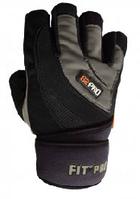 Перчатки тренировочные Power System атлетические с фиксатором
