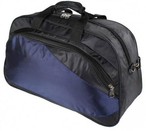 Мужская комфортная сумка для путешествий на 46 L Traum 7077-02 черно-синий