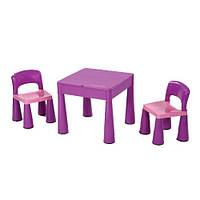 Комплект детской мебели Tega Baby Mamut (стол + 2 стула) (фиолетовый)