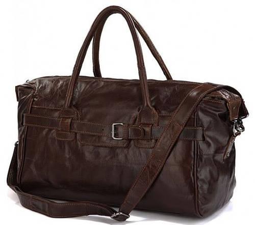 Функциональная дорожная кожаная сумка на 16 л  JASPER & MAINE 7079Q